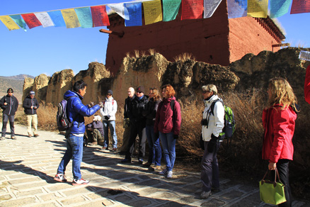 a short hiking, Beijing Hikers Lijiang and Shangri-La, Nov14, 2012