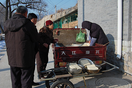 Local villagers, Beijing Hikers Zhuangdaokou Great Wall and Hot spring, Dec26, 2012