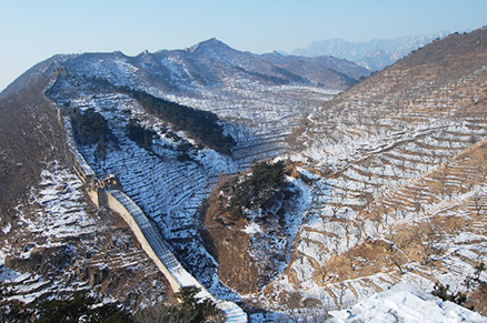 , Beijing Hikers Zhuangdaokou Great Wall and Hot spring, Dec26, 2012