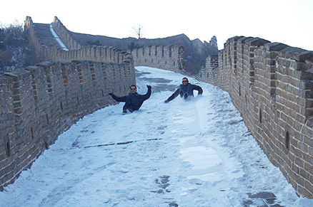 Go! Action!!, Beijing Hikers Zhuangdaokou Great Wall and Hot spring, Dec26, 2012