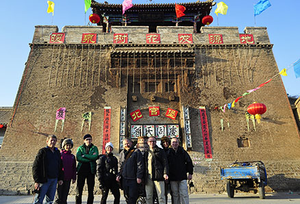 group photo, Beijing Hikers Nuanquan (Warm spring town) town Chinese new year visiting at Yu County in Hebei province, 2013/02/12-13, 23-24