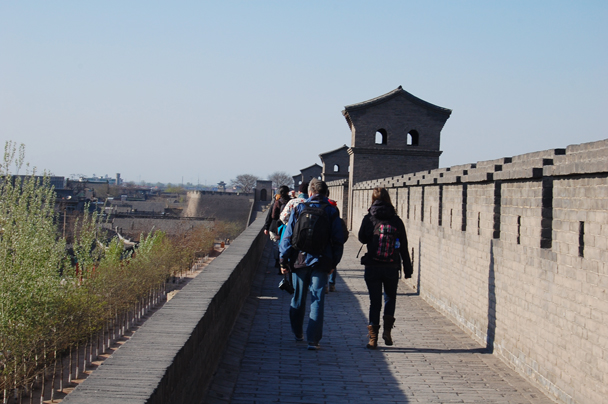 The group photo, Beijing Hikers Two days in Pingyao Ancient City , 2013/04/06