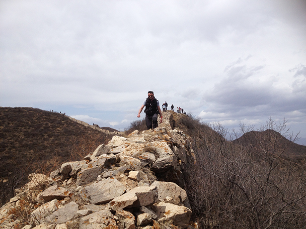 stones,Beijing Hikers Yanqing Great Wall, 2013/04/13
