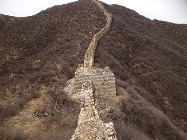 The trail,Beijing Hikers Yanqing Great Wall, 2013/04/13