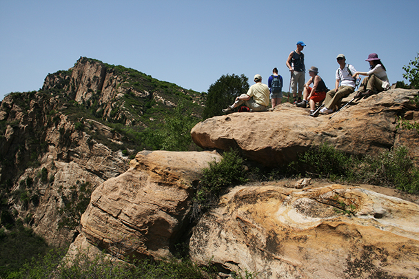 The big rocks, Beijing Hikers Dragon Cloud Mountain, 2013/05/12