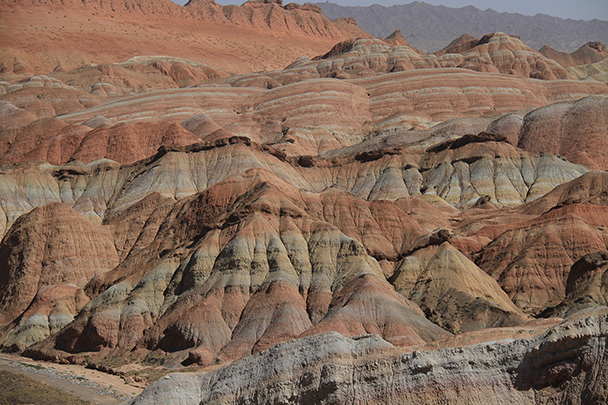 Beautiful colours in the hills, Badain Jaran Desert and Zhangye Danxia Landform, 2013/09