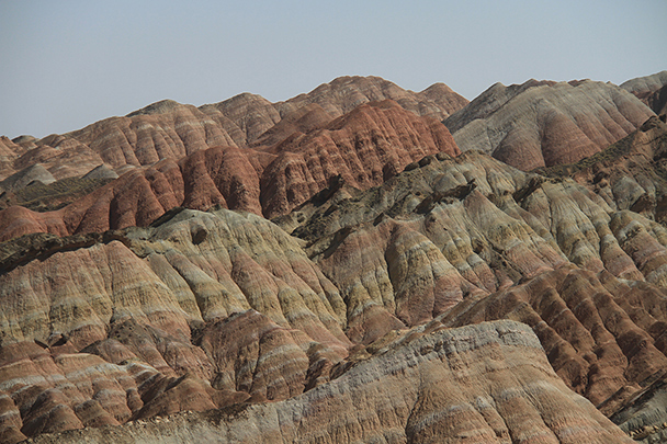 A big open view, Badain Jaran Desert and Zhangye Danxia Landform, 2013/09