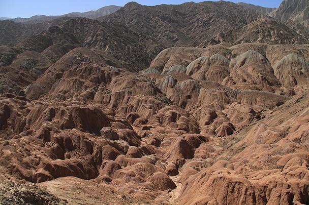 , Badain Jaran Desert and Zhangye Danxia Landform, 2013/09