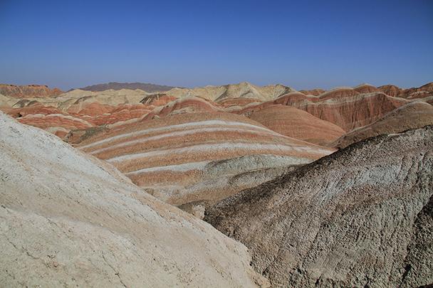 Salmon Hills, Badain Jaran Desert and Zhangye Danxia Landform, 2013/09