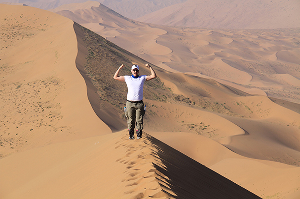 Yes, I made it too, Badain Jaran Desert and Zhangye Danxia Landform, 2013/09