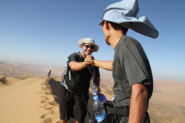 Nice work, Badain Jaran Desert and Zhangye Danxia Landform, 2013/09
