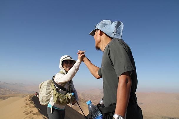 You made it, Badain Jaran Desert and Zhangye Danxia Landform, 2013/09
