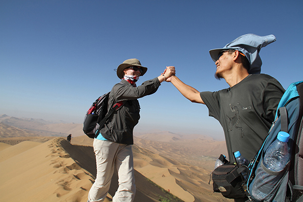 And you! , Badain Jaran Desert and Zhangye Danxia Landform, 2013/09