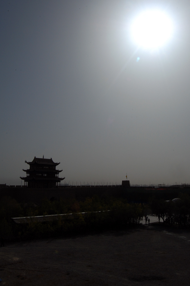 Towers of the Jiayuguan Fortress, Beijing Hiker's Journey from the West, 2013/10