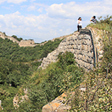 Hiking on the Great Wall, Beijing Hiker's Switchback Great Wall hike, 2013/09/01