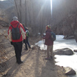 Valley trail - Longquanyu Hike, 2014/01/27
