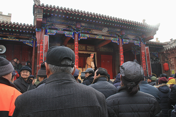 The local style of opera is called Hebei Bangzi - Yu County CNY 2014 Overnighters, Part 2