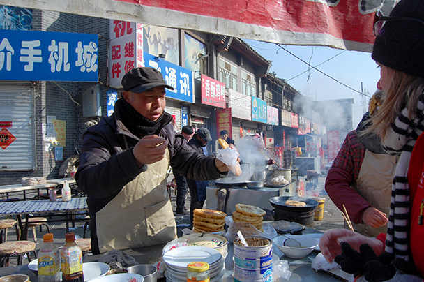 Sample some street food - Yu County CNY 2014 Overnighters, Part 2