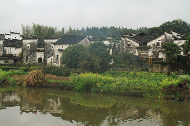 Another view of the village / A riverside scene - Wuyuan County, Jiangxi Province, 2014/03