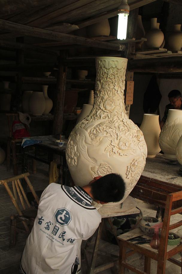A larger piece - Wuyuan County, Jiangxi Province, 2014/03
