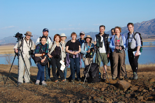 Our pro bird watchers! - Miyun Birdwatching overnighter, 2014/03/29-30