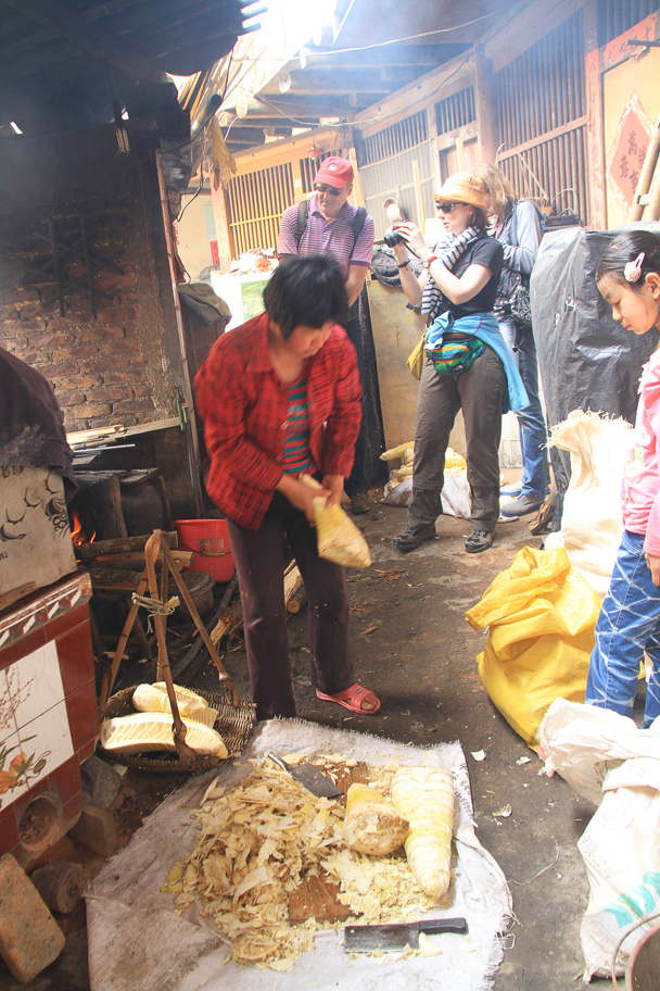 The cooking area of the tulou building - Hakka Tulou Clusters and Xiamen, Fujian Province, 2014/04