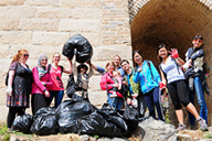 Earth Day clean up hike photos, 2014/04/20