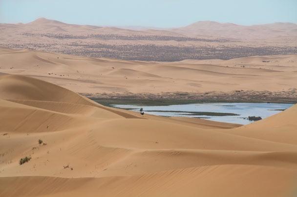 More desert scenery - Alashan Desert, Inner Mongolia, 2014/05
