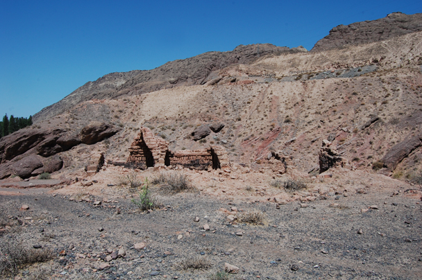 These kilns were built during the 'Great Leap Forward' - Zhangye Danxia Landform and Jiayuguan, Gansu Province, May 2014