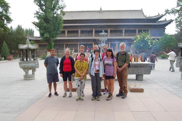Back in Zhangye, at the 'Giant Buddha' Temple - Zhangye Danxia Landform and Jiayuguan, Gansu Province, May 2014