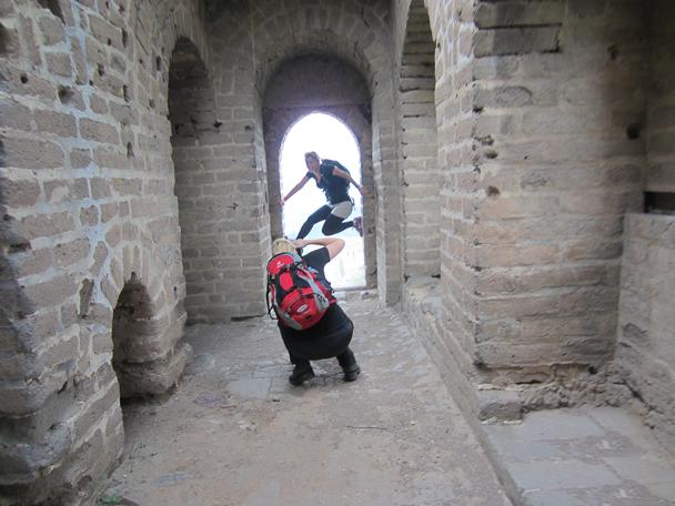 Photo time! - Camping at the Gubeikou Great Wall, May 2014