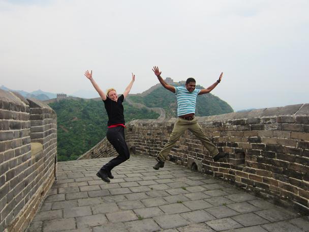 Hey! - Camping at the Gubeikou Great Wall, May 2014