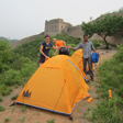 Camping at the Gubeikou Great Wall, May 2014