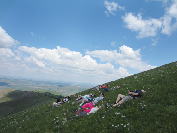 This was a really comfortable place to lie about -  Bashang Grasslands trip, 2014/7