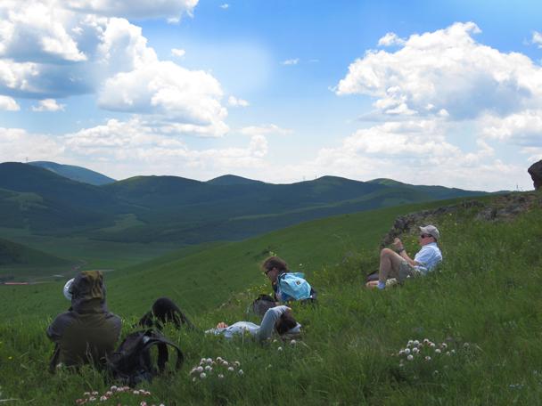 Still resting! -  Bashang Grasslands trip, 2014/7