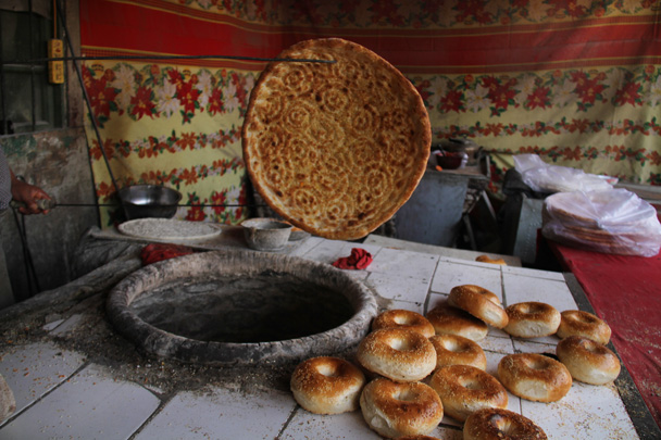 The finished product - Along the Silk Road from Korla to Kashgar, 2014/06