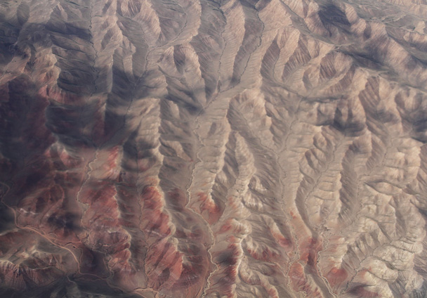 Views of mountains - Along the Silk Road from Korla to Kashgar, 2014/06