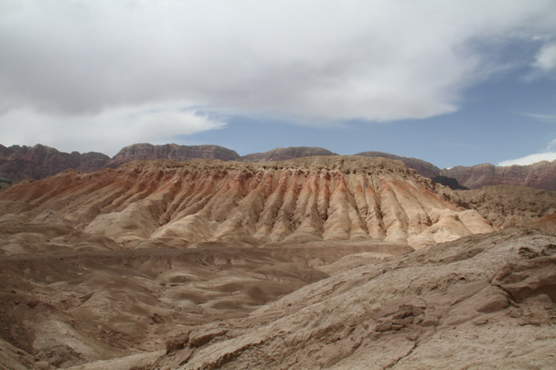 Looks a little like the danxia landform in Zhangye - Along the Silk Road from Korla to Kashgar, 2014/06