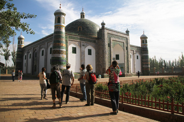 This is the Tomb of the Fragrant Concubine - Along the Silk Road from Korla to Kashgar, 2014/06