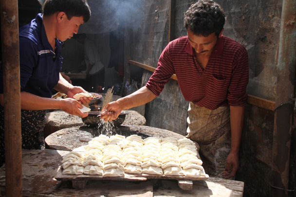 We noticed these were a hot item - Along the Silk Road from Korla to Kashgar, 2014/06