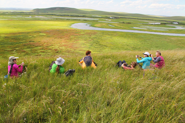 A really nice spot for a rest - Hulunbuir Grasslands, Inner Mongolia, 2014/07