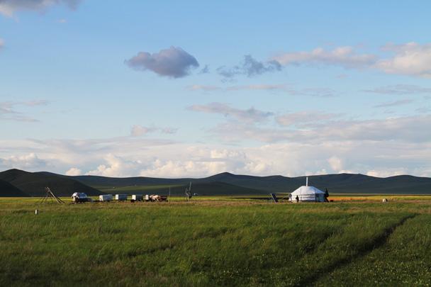 A nomad settlement - Hulunbuir Grasslands, Inner Mongolia, 2014/07
