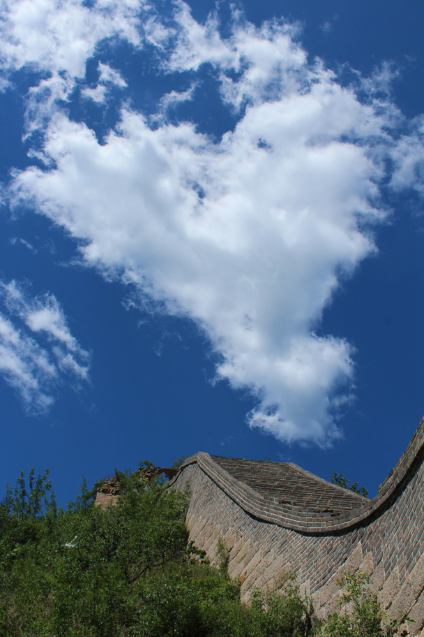 Clouds over the Great Wall - Zhuangdaokou Great Wall to the Walled Village, 2014/07/12