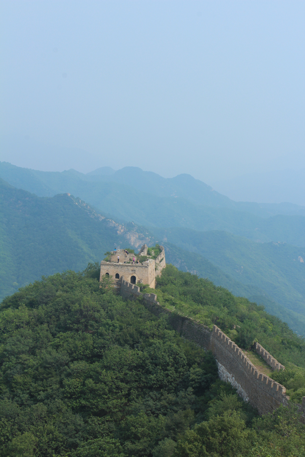 A shot of the tower where the hike finished, and where we set up our campsite - Great Wall Spur Camping, July 2014