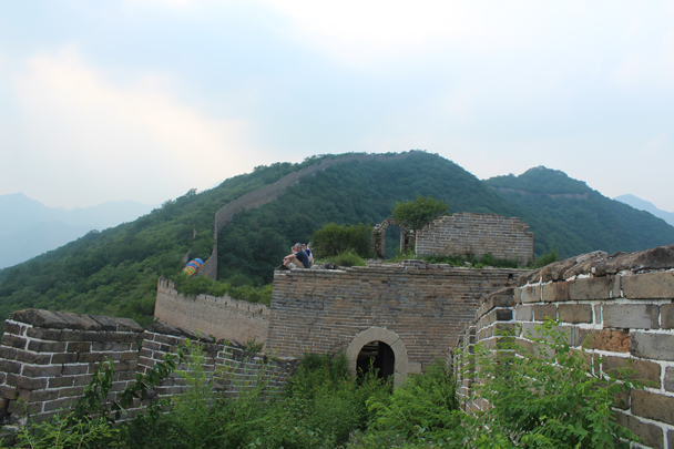 A shot from the other side of the old tower - Great Wall Spur Camping, July 2014