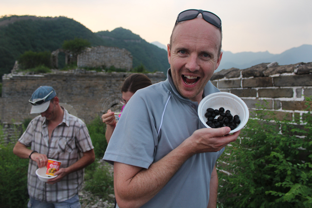 Even some olives! - Great Wall Spur Camping, July 2014