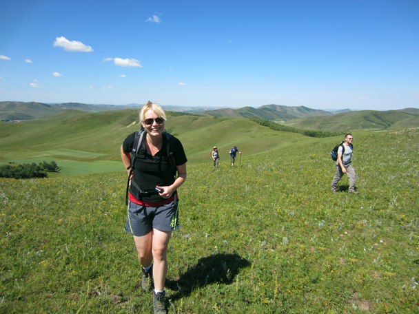 A perfect day to be outside for a walk - Bashang Grasslands trip, August 2014