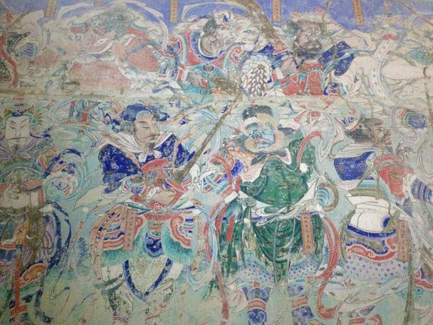 We saw frescoes from the Ming Dynasty - Yu County Overnight Trip 2014/08