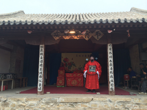 Another of the characters in the story - Changyucheng Walled Village hike and Countryside Opera Performance, 2014/09/21