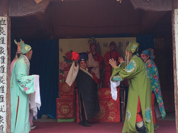 Changyucheng Walled Village hike and Countryside Opera Performance, 2014/09/21